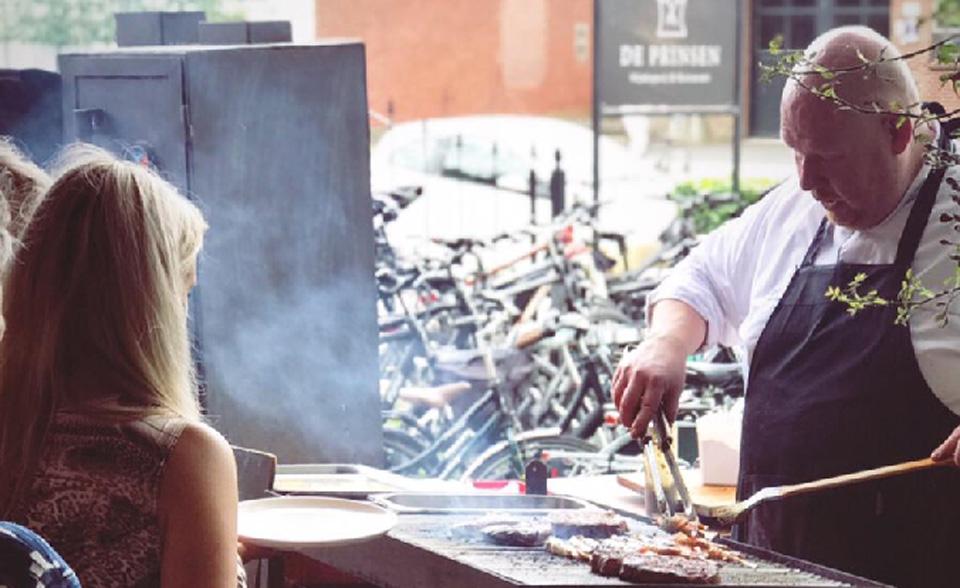 Barbeceu bij De Prinsen